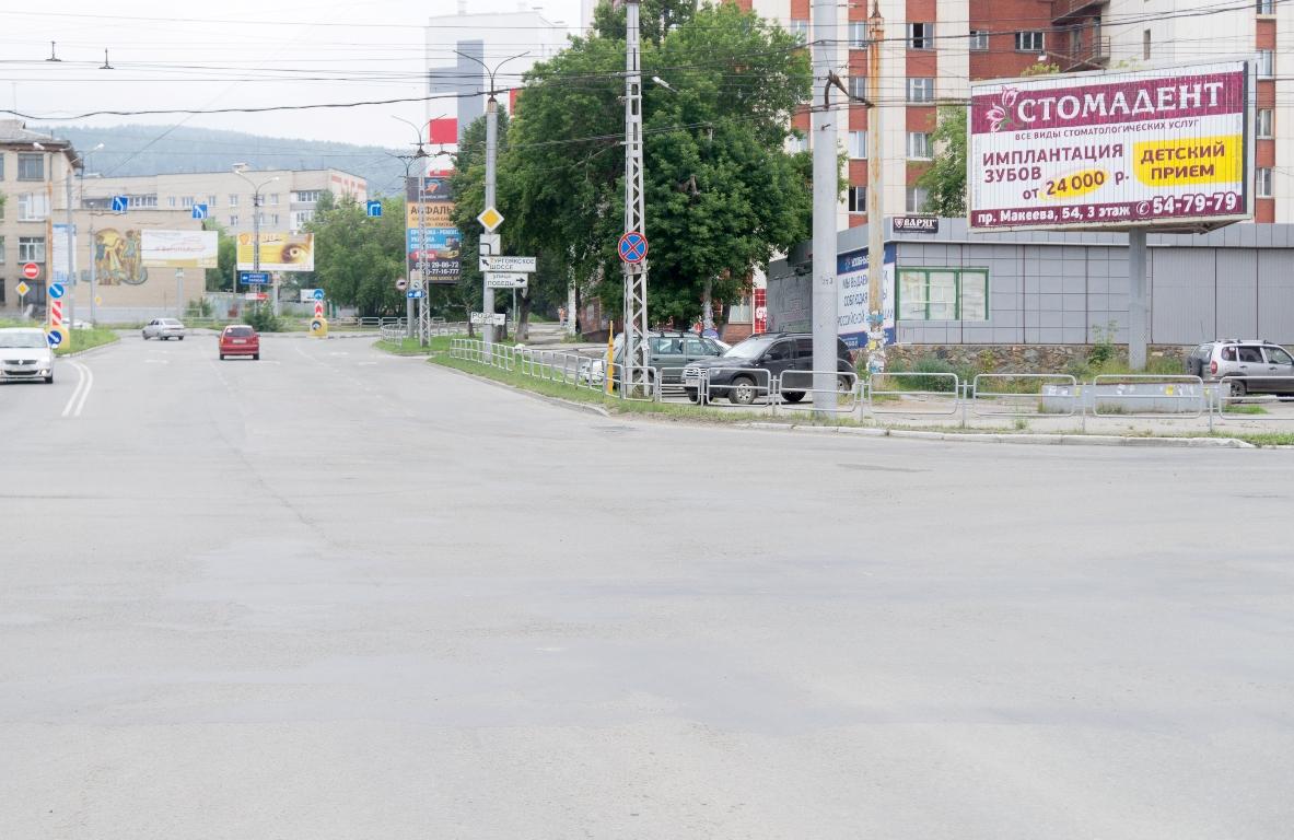Перекресток Предзаводская пл. и пр. Автозаводцев